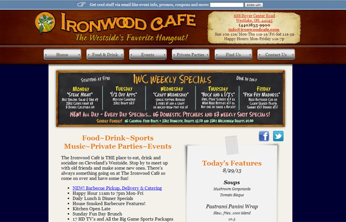 Ironwood Cafe