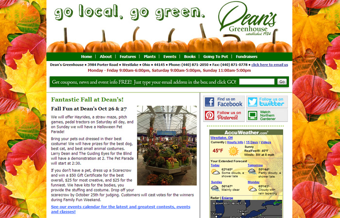 Deans Greenhouse