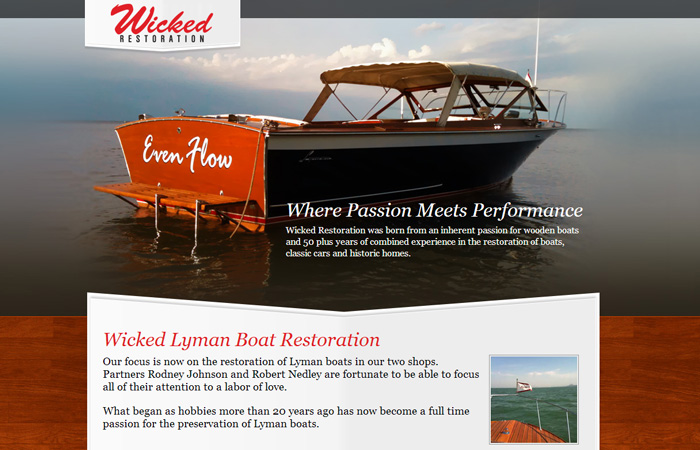 Wicked Lyman Restoration